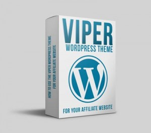 Using WordPress Viper theme on affiliate marketing websites
